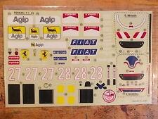 FI-53 Decal Set - Kyosho Ferrari F189 F1 Car  -  F1 / Group C / Indy Car series