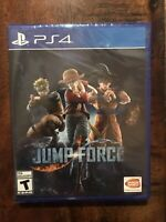 Jump Force -- Standard Edition (Sony PlayStation 4, 2019) New Sealed!