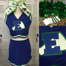 Real Cheerleading Uniform Vintage Adult Sm