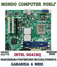 SCHEDA MADRE SOCKET 775 INTEL DG41RQ + CPU INTEL CORE 2 DUO E6750 @ 2,66 GHz