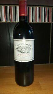 Bouteille de vin HAUT-MÉDOC CHATEAU SENILHAC 1996