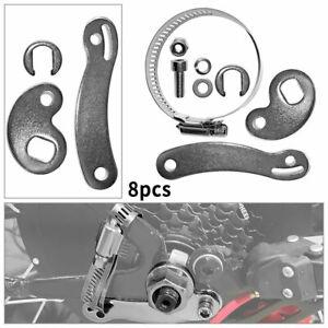 8 Teile/Set Drehmoment Torque Arm Drehmomentstütze für Elektrofahrrad E-Bike DE