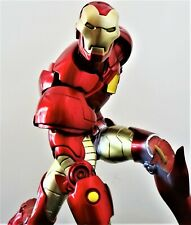 MARVEL SIDESHOW IRON MAN COMIQUETTE STATUE FIGURE BUST DIORAMA DEFECTED