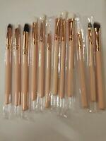 12pcs Make up Brushes Set Cosmetic Eyeshadow Makeup Brush Kit Blush Pink