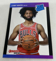 2019 20 Coby White #6 RC Panini Instant Donruss 1989 Retro Rated Rookie 1of3431