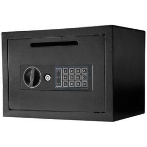 Barska Compact Keypad Depository Safe w/ Drop Slot & Back up Keys, AX11934