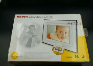 KODAK Easy Share M820 Digital Picture Frame-128 MB-New with box