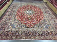 On Sale Semi Antique Handmade Kashan-Persian Rug Carpet Floral  10x13,9'10x13'4