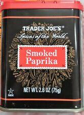 Trader Joe's Smoked Paprika 2.6 oz ~ New!