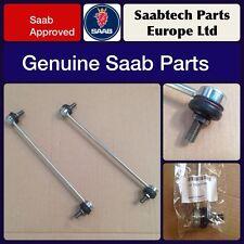 """2 X GENUINE"""" SAAB 9-3 2003 - 2010 ANTI ROLL BAR DROP LINK - 13237130 - BRAND NEW"""