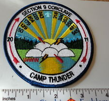 2011 Section SR-9 Conclave - Attendee Patch - Camp Thunder -