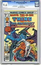 Marvel Two-In-One #36 CGC 9.6  NM+  wht pages Mr. Fantastic Team Up 2/78 E.Chan