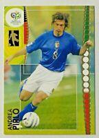 2006 Panini World Cup Germany Andrea Pirlo #126 Italy