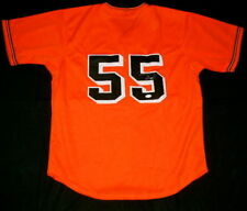 TIM LINCECUM AUTOGRAPHED JERSEY (GIANTS) W/ PROOF! - JSA COA!