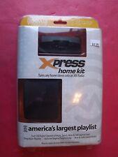 New  Audiovox xpress  Universal XM Home Kit Onyx plus XPRESS RC XMH-10