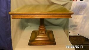 """2267M Vtg 1966 Weiman Rockwood Collection Accent End Table 16 1/4"""" Tall EXC VINT"""