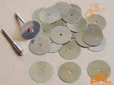30pc 22mm Circular Saw Blades Wood Cutter Abrasives accessory for Rotary Tools