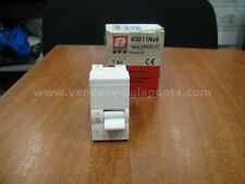 AVE 45B11NX6 INTERRUTTORE MAGNETOTERMICO 1P+N C6 6A BANQUISE 230V P.I 1500 NUOVO