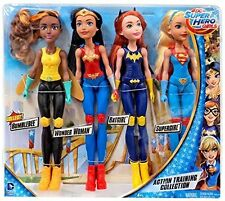 DC Comics DC Super Hero Girls Action Training Collection 11-Inch Doll 4-P...