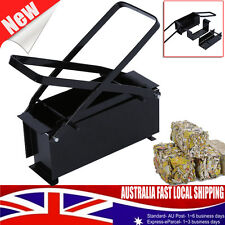 BRIQUETTE ECO RECYCLE NEWS PAPER LOG MAKER FOR FIREPLACES BRICK BLOCK FUEL AU