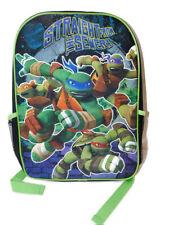 "NWT Teenage Mutant Ninja Turtles ""Straight From The Sewer"" Backpack- 16"""