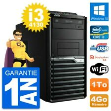 PC Tour Acer Veriton M4630G Intel i3-4130 RAM 4Go Disque Dur 1To Windows 10 Wifi