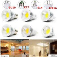 4/8 x 6W 9W 12W MR16 GU10 E27 E14 COB LED Spot Strahler Lampe BIRNE Glühbirne