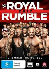 WWE: Royal Rumble 2017 NEW R4 DVD