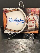 2018 Topps Tribute Paul DeJong Auto St. Louis Cardinals Autograph #172/199