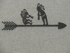 Wood Kokopelli Arrow Wood Wall Sign Home Decor