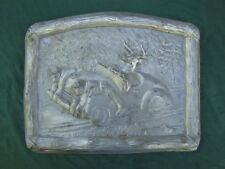 Rare Vintage Plaque For the Hunter That Has it All