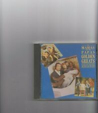 THE MAMAS AND THE PAPAS GOLDEN GREATS  CD ALBUM