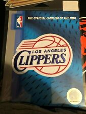 LOS ANGELES CLIPPERS EMBROIDERED PATCH