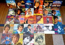 """28 Udo Jürgens Singles - 7"""" Oldies Musikbox Jukebox Schallplatten Schlager Vinyl"""