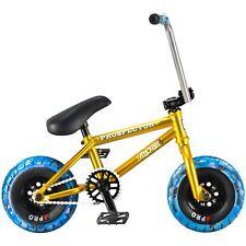 Balancín Mini Bmx Reggie Prospector Bicicleta -Oro / Azul