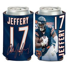 Chicago Bears Wincraft #17 Alshon Jeffery 12oz Can Coolie Free Ship