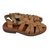 Women's Caterpillar CAT Casual Sandals P308531 Buckle  Anders Size 7.5 Tan