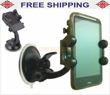 Car Windscreen 360 Degree Suction Mount Holder With Incline For HTC Desire HD