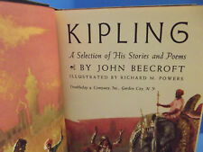 Rudyard Kipling: A Selection of His Stories and Poems, Beecroft Vol. 1(1956, HC)