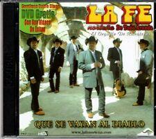 La Fe Nortena de Toño Aranda  Que se Vayan alDiablo    BRAND  NEW SEALED CD/DVD