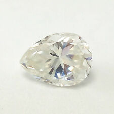 1.08 CTS 8MM VS1 VG PEAR UNTREAT F COLOR WHITE LAB CERTIFIED LOOSE DIAMOND
