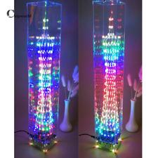DIY DS3231 4 digitale elektronische LED-Turm-Kit-Tastenkombination LED-Lamp Kit