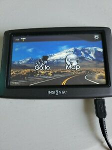 INSIGNIA GPS, Model NS - NAV01 Window Mount Cable Charger SD Card
