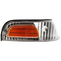 For Ford Crown Victoria Corner Light 1998-2011 Passenger Side Clear & Amber Lens