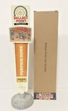 """Ballast Point Pumpkin Down Ale Beer Tap Handle 11.5"""" Tall - Brand New In Box!"""