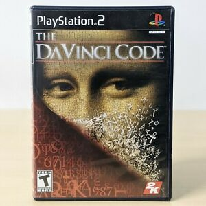 The DaVinci Code - Sony PS2 PlayStation 2 Game With Case CIB Tested Working