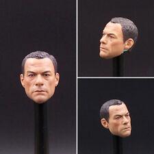 """1/6 Scale jean-claude van damme Head Sculpt For 12"""" Action Figure Hot Toys"""