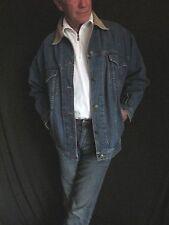 CW Clifford & Willis Blue Denim Jean Jacket Corduroy Men's Small, Women's S  J35
