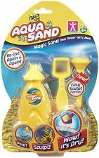 Aqua Sand Magic Sand That Never Gets Wet by GR8 Art - Yellow