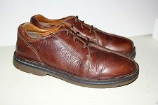 Men's DR. MARTENS Brown Leather Oxford Shoes 8B16 Size 13